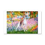 Garden / Ital Greyhound Car Magnet 20 x 12