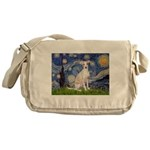 Starry Night / Ital Greyhound Messenger Bag