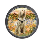Garden Fiorito/ Spinone Wall Clock