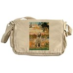 Garden Fiorito/ Spinone Messenger Bag