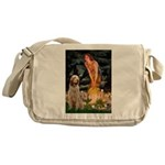 Fairies/ Italian Spinone Messenger Bag
