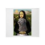 Mona / Irish Wolf Throw Blanket