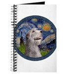 Starry Irish Wolfhound Journal