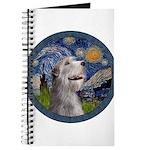 Starry Irish Wolfhound Journal