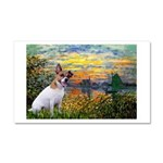 Sunset / JRT Car Magnet 20 x 12