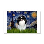 Starry/Japanese Chin Car Magnet 20 x 12