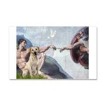 Creation/Labrador (Y) Car Magnet 20 x 12