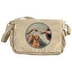 Creation/Labrador (Y) Messenger Bag
