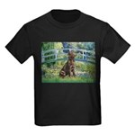 Bridge / Labrador (Choc) Kids Dark T-Shirt