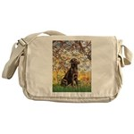 Spring / Choc Lab 11 Messenger Bag