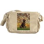 Spring / Choc Lab 11 Messenger Bag