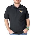 Starry Night Yellow Lab Organic Kids T-Shirt (dark