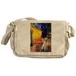 Cafe-Yellow Lab 7 Messenger Bag