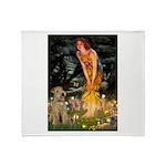 Midsummer's Eve Lakeland T. Throw Blanket