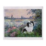 Seine / Lhasa Apso #2 Throw Blanket