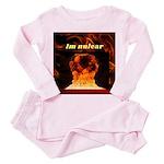 Irises / Lhasa Apso #4 Organic Toddler T-Shirt (da