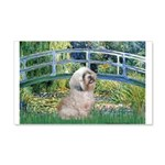 Bridge / Lhasa Apso 20x12 Wall Decal