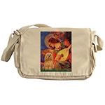 Mandolin / Lhasa Apso #9 Messenger Bag
