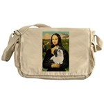 Mona / Lhasa Apso #2 Messenger Bag