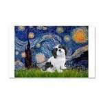 Starry / Lhasa Apso #2 Car Magnet 20 x 12
