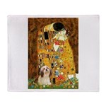 Kiss / Lhasa Apso #4 Throw Blanket