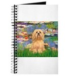 Lilies / Lhasa Apso #9 Journal