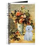 Vase / Maltese (B) Journal