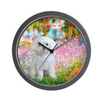 Garden / Maltese Wall Clock