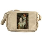 Ophelia's Maltese Messenger Bag