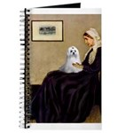 Whistler's Mother Maltese Journal