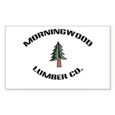 Morningwood Lumber Co. Rectangle Stickers