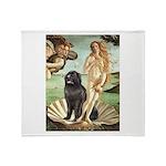 Venus & Newfoundland Throw Blanket