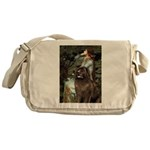 Ophelia / Newfoundland Messenger Bag