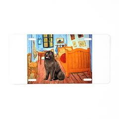 Room & Newfoundland Aluminum License Plate