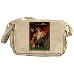 Angel & Newfoundland (B2S) Messenger Bag