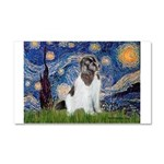 Starry Night / Landseer Car Magnet 20 x 12