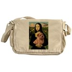 Mona / Norfolk Terrier Messenger Bag