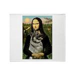 Mona / Nor Elkhound Throw Blanket
