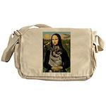 Mona / Nor Elkhound Messenger Bag
