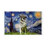 Starry / Nor Elkhound 20x12 Wall Decal
