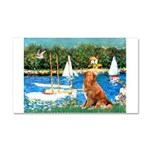 Sailboats / Nova Scotia Car Magnet 20 x 12