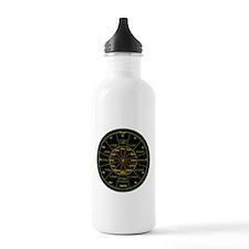 Cute Drum bass music Water Bottle