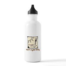 Support Organic Farming Water Bottle