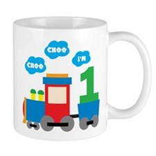Train 1st Birthday Mug
