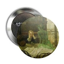 "Absinthe Drinker 2.25"" Button (100 pack)"