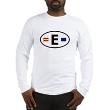 Cute Espana football Long Sleeve T-Shirt