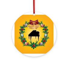 Christmas Music Piano Ornament