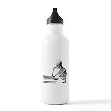 Thinking Skeleton Sports Water Bottle