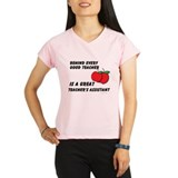 Great Teacher's Assistant Performance Dry T-Shirt