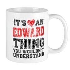 Red Edward Thing Mug